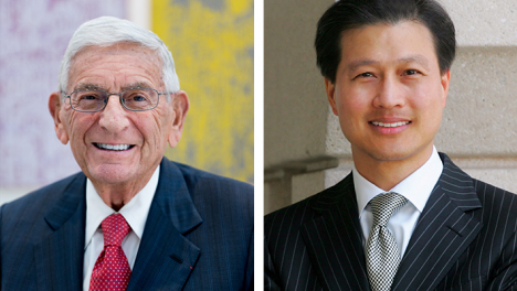 Eli Broad + Dominic Ng in Conversation