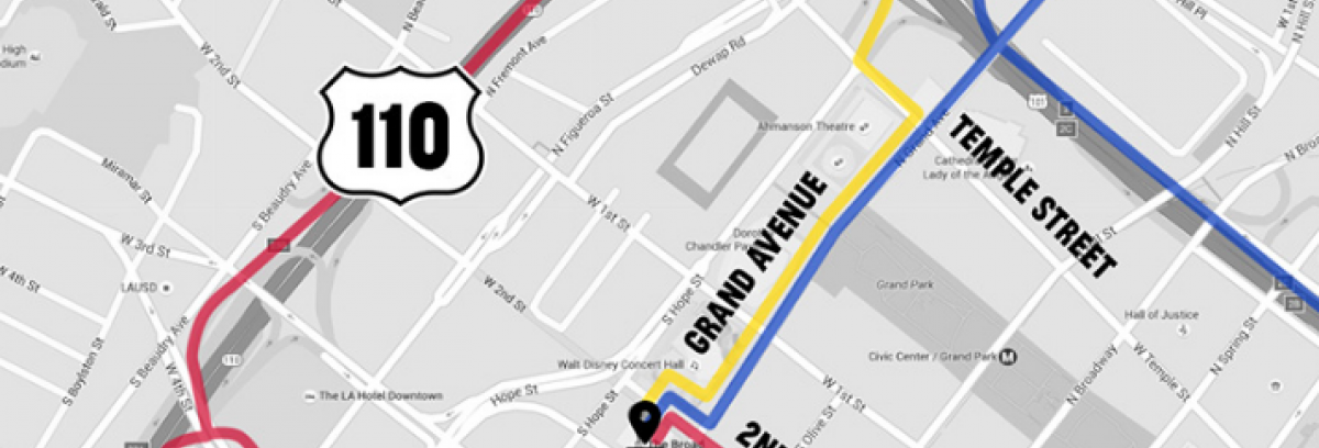 Directions and Parking | The Broad