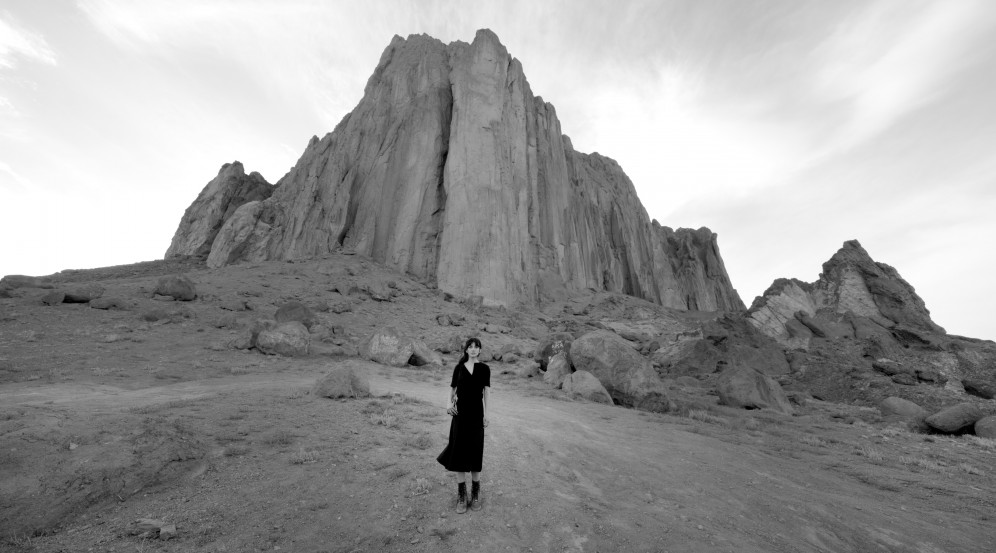 Land of Dreams video still by Shirin Neshat