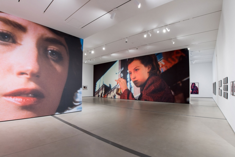 Cindy Sherman: Imitation of Life Installation Photo with Murals