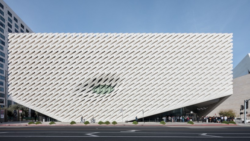 Photo of The Broad museum during the day
