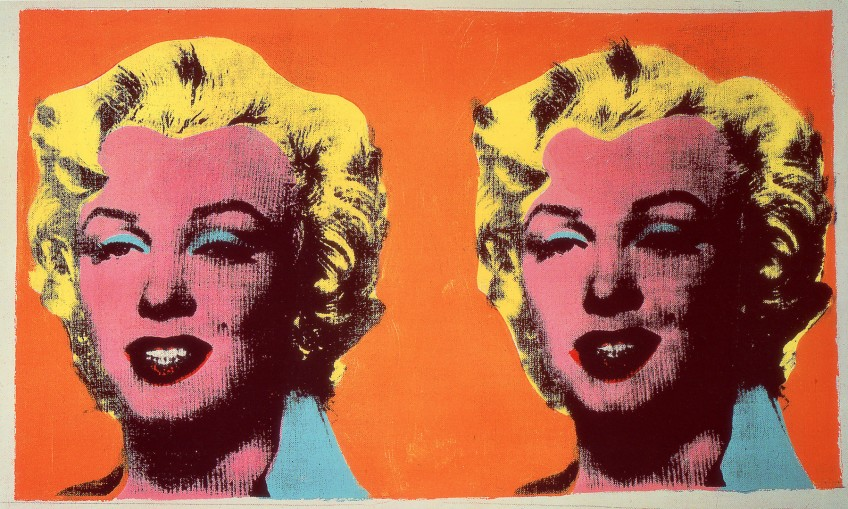 Andy Warhol Two Marilyns