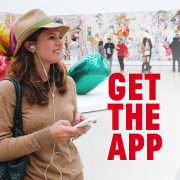 Click to get The Broad's app with free audio tours.
